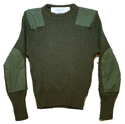 $24.95 • Buy NICE DSCP VALOR COLLECTION MILITARY SERVICE WOOL SWEATER Army Green Men 38