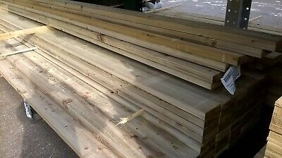 Delivery Only New C16 Graded Treated Timber 3x2 4x2 6x2 8x2 Lengths • 23£