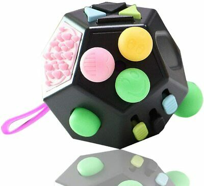 AU22.95 • Buy Fidget Cube /Stress Anxiety Relief/Sensory Toys/Autism, ADHD,Toys Gifts, Blue