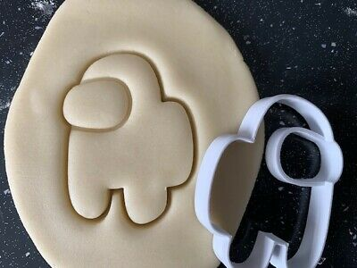 £3.40 • Buy Among Us Cookie Cutter Pastry Biscuit Icing Fondant Baking Fun