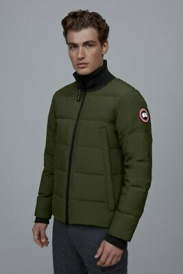 $650 • Buy NEW Canada Goose 3807M Woolford Slim Fit Down Jacket Large MILITARY GREEN $775