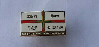West Ham Icf Hooligan Pin Badge • 5.99£