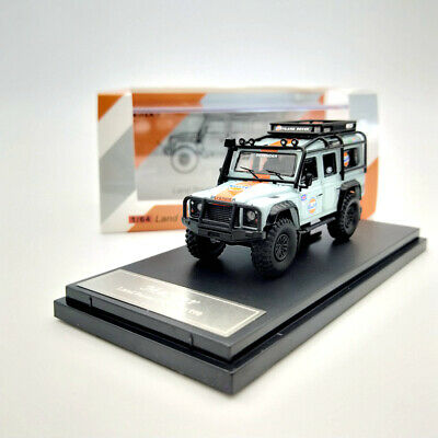 Master 1/64 Land Rover Defender 110 Gulf With Luggage Diecast Model Car Gifts • 21.60£