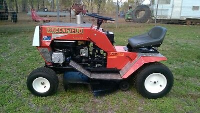 AU45 • Buy Greenfield Mower Decals, Stickers Set. Tractor 8, 10, And 11.