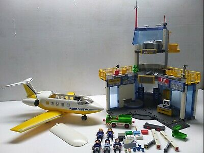 £121.69 • Buy Most Playmobil Airport 3186 And Airplane 3185 Captn/Stewardess/Suitcases/TRANS+