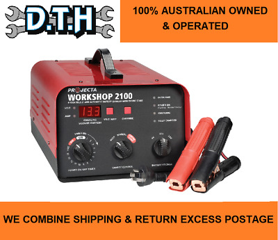 AU578.84 • Buy Projecta 6/12/24 Volt Auto/manual 21 Amp 2 Stage Battery Charger & Jump Start