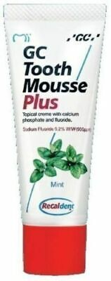 AU24.49 • Buy 1x GC Tooth Mousse Plus Strengthen Tooth Surface 40 Gm Fast Shipping !!