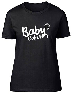 £9.99 • Buy Baby Cakes Fitted Womens Ladies T Shirt