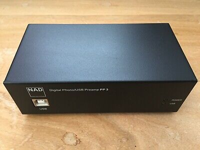 NAD PP 3 PP3 Phono USB Preamp Pre Amp Amplifier • 80£