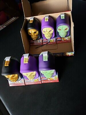 $275 • Buy (6) Mega Construx Masters Of The Universe Exclusive Skeletor Skull's Brand New!!
