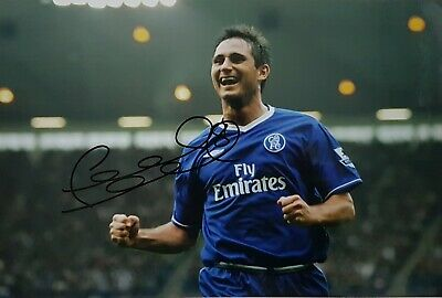 £35 • Buy Frank Lampard Authentic Hand Signed 12x8 Photograph
