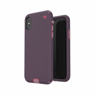 AU31.99 • Buy Speck IPhone XS X Speck Presidio Sport Impactium Tough Slim Case - Purple Pink