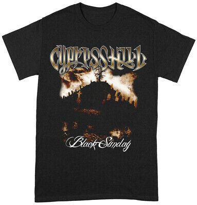 £13.99 • Buy Cypress Hill 'Black Sunday' (Black) T-Shirt - NEW & OFFICIAL!