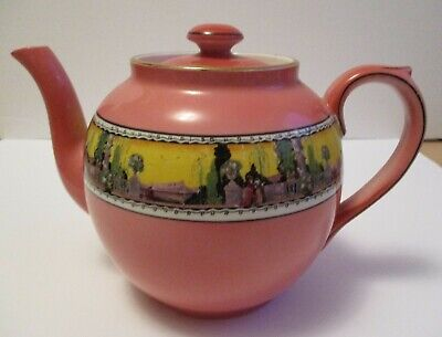 $ CDN32 • Buy Royal Winton Grimwades Tea Pot Pink Wonderful Condition For Age 5 1/2 Inches Tal