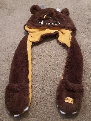 Debenhams, Gruffalo Hat With Attached Scalf And Mits, 1 - 2 Years, Unisex • 3£