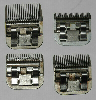 4 X ANDIS DOG GROOMING CLIPPER BLADES Sizes 10  3.3/4  5FC ULTRA  3/4 HT 19mm • 6.50£