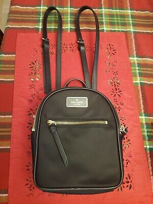 $ CDN44.66 • Buy Kate Spade Mini Bradley Black Backpack