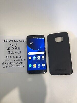 $ CDN175 • Buy Samsung Galaxy S7 Edge ,32GB, Excellent Condition, Black , Unlocked, SM-G935.