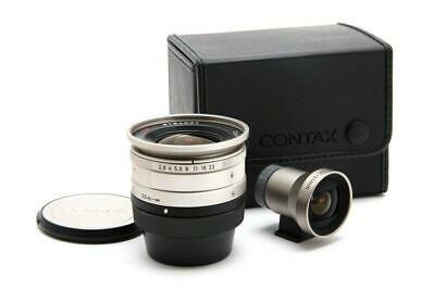 $ CDN631.73 • Buy Near Mint Contax G 21mm F2.8 Biogon T* Lens With Finder & Case #33099