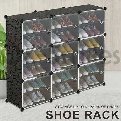 AU29.95 • Buy Door Cube DIY Shoe Cabinet Rack Storage Portable Stackable Organiser Stand