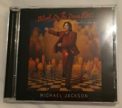 Michael Jackson - Blood On The Dance Floor  History In The Mix  CD (1997) • 2£