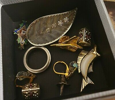 Silver And Vintage Jewellery Joblot. • 6.99£
