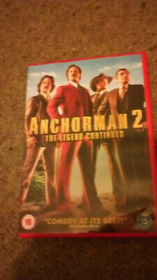 Anchorman 2 DVD Used. • 2.20£