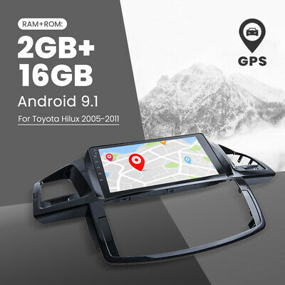 AU315 • Buy 9  Android 9.1 Car Stereo GPS Navi Radio Head Unit Fit Toyota Hilux 2005-2011