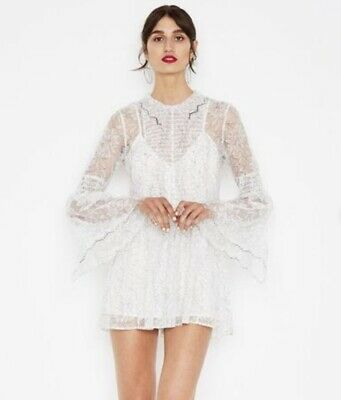 AU120 • Buy Alice McCall White Lace Playsuit
