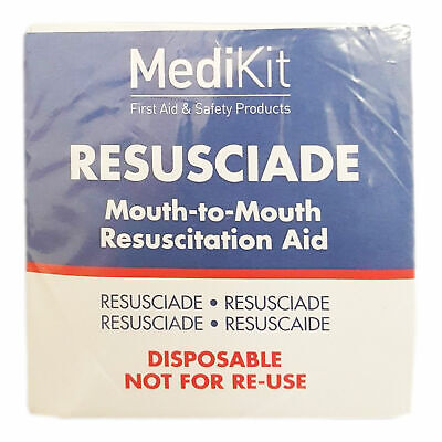 £1.99 • Buy Mouth To Mouth Resuscitation Device CPR Face Shield First Aid Resus Aid - 1