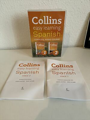 Complete Spanish (Stages 1 And 2) Box Set (Collins Easy Learning Audio Course),  • 2.85£