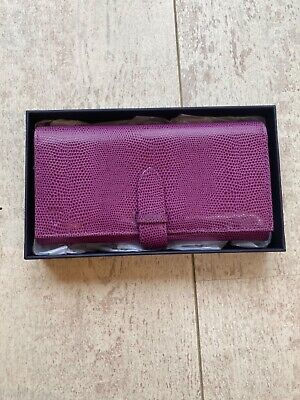 BNWT Aspinal Of London Ladies Leather Purse • 21£