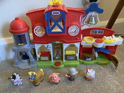 Fisher Price Little People Caring For Animals Farm • 3.50£
