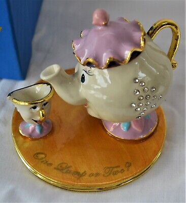 Fabulous Beauty And The Beast. Mrs Potts&chip. Adult Disney Collectable.exc Cond • 14.99£