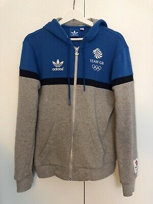 Adidas Originals Team GB Great Britain Hoodie X-SMALL/SMALL London Olympics 2012 • 15£