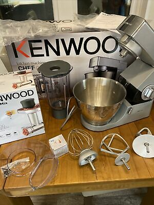 Kenwood Classic Chef W/ Whisk And 2 K Beaters And Brand New Food Mincer • 136£