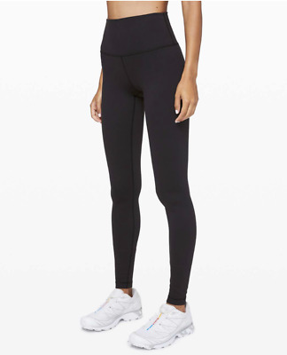 $ CDN81.66 • Buy Lululemon Wunder Under Hi-Rise Full Length Leggings 8 Black Luon High Waist EUC
