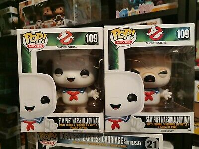 AU30 • Buy Stay Puft Marshmallow Man Toasted + Untoasted  Pop Vinyl #109 FUNKO GHOSTBUSTERS