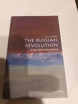 THE RUSSIAN REVOLUTION. A Very Short Introduction Books • 7£