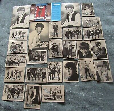 The Beatles A & B C Chewing Gum Cards + Postcards • 9.99£