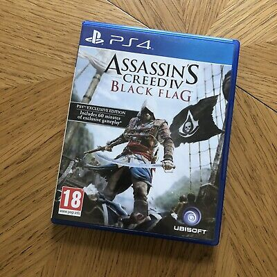Assassin's Creed IV: Black Flag (PlayStation 4, 2013) Exclusive Edition  • 2.30£