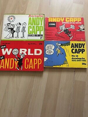 Andy Capp Books • 4£