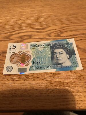 Ak-47 Five-pound Note.  Very Good Condition. • 8£