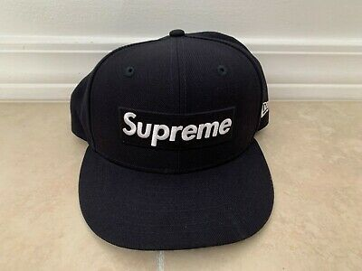 $ CDN44.20 • Buy Authentic Original New Era Supreme Black Hat World Famous Playboy New No Reserve