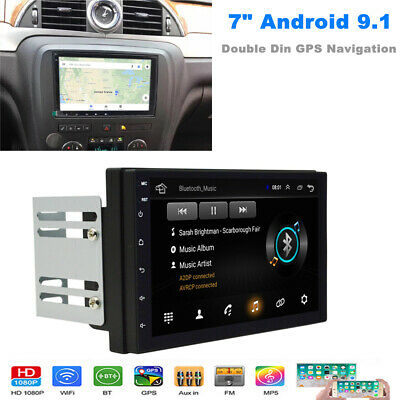 $141.95 • Buy 7inch Touch Screen Android 9.1 Car Stereo GPS Navigation Radio Player 2 Din WIFI