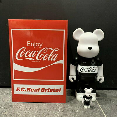 $408.16 • Buy Medicom Toy Bearbrick Soph Fc Real Bristol Coca Cola 100% 400% Figure F/s