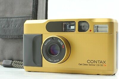 $ CDN1649.18 • Buy 【Top Mint】Contax T2 Gold 35mm Point & Shoot Film Camera From Japan #648