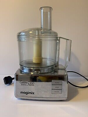 View Details Magimix Food Processor 5100 With Blades, Accessories And Juicer • 110.00£