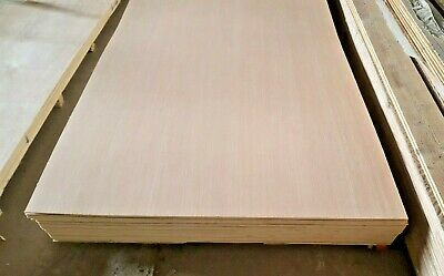 5.5mm HARDWOOD FACED PLYBOARD SHEET (8ft X 4ft) • 15£