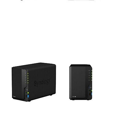 Synology DS220+ 2-Bay 12TB Bundle 2x SEAGATE NAS HDD 6TB IronWolf • 680.76£